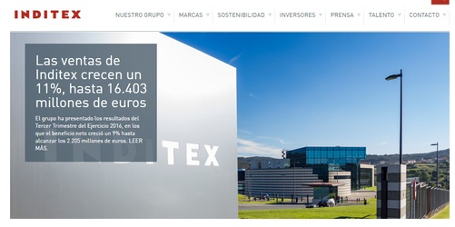 inditex captura