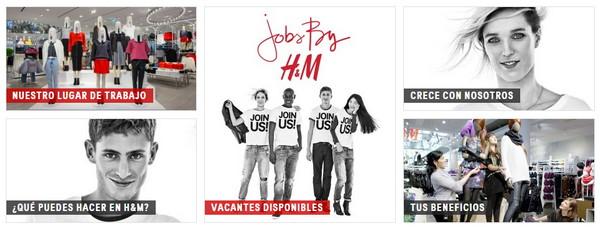 H&M trabaja con nosotros