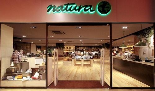 Natura tienda para trabajar