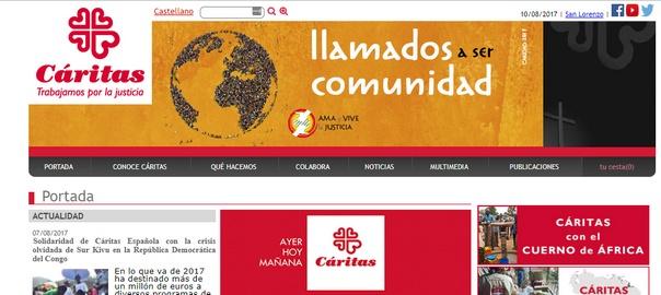 caritas web
